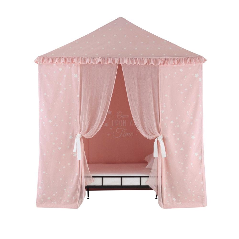 tente enfant en coton rose 200 x 250 cm cassiopee maisons du monde. Black Bedroom Furniture Sets. Home Design Ideas
