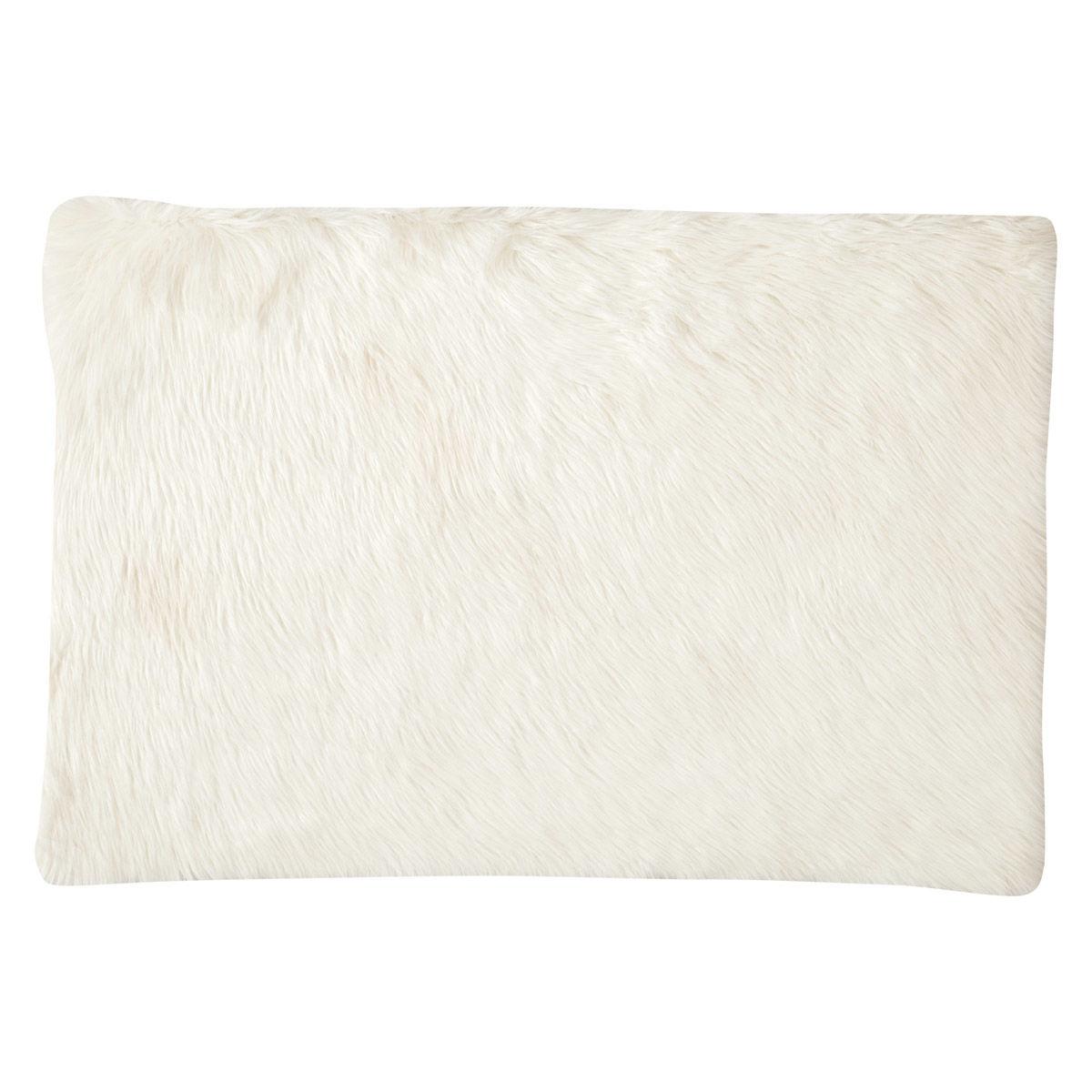 Teppich Aus Kunstfell Weiss 80 X 120 Cm Maisons Du Monde