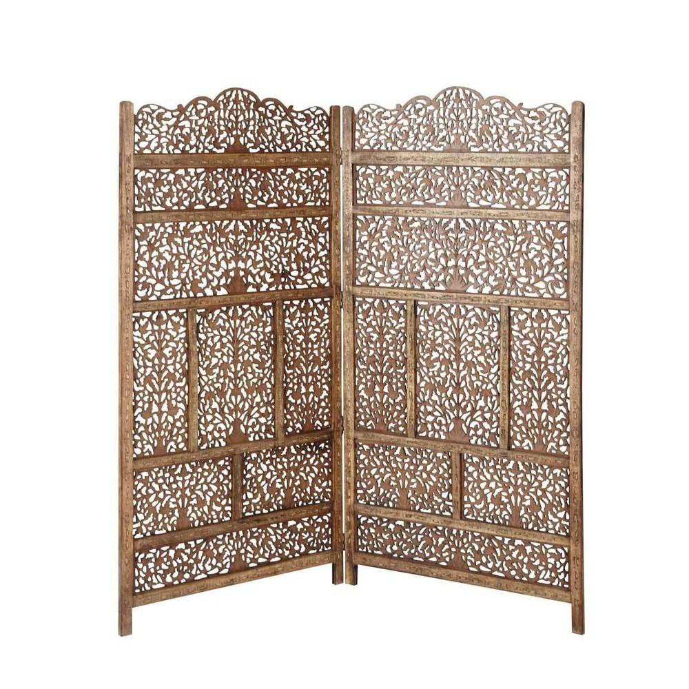 Testata da letto in legno l 160 cm alhambra maisons du monde for Cuscini testata letto maison du monde
