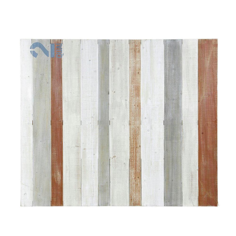 Testata da letto in legno l 160 cm noirmoutier maisons for Cuscini testata letto maison du monde