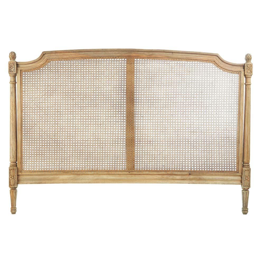T te de lit en manguier l 160 cm colette maisons du monde - Tete de lit industriel ...