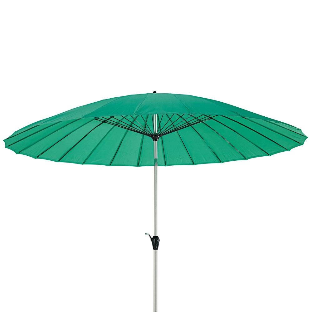 tilting parasol in aluminium and blue lagoon fabric 3 x 3. Black Bedroom Furniture Sets. Home Design Ideas
