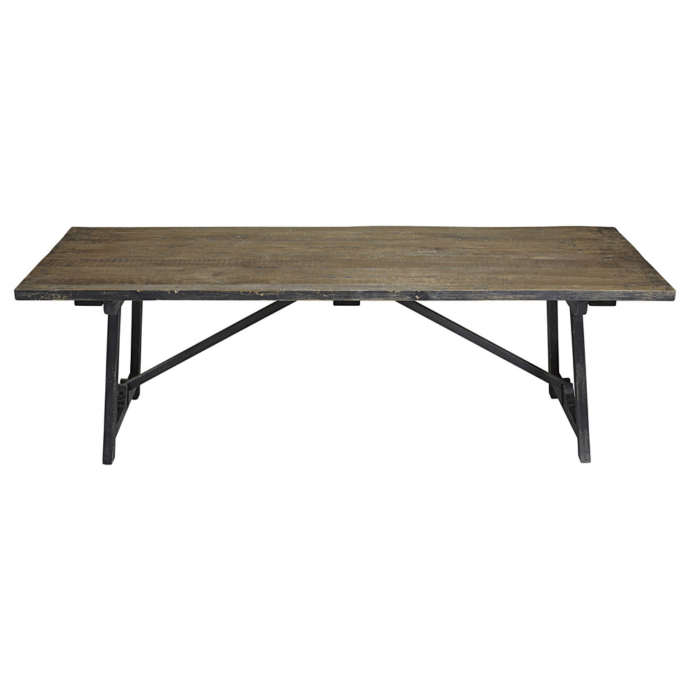 tisch aus kiefernholz schwarz lackiert arezzo maisons du monde. Black Bedroom Furniture Sets. Home Design Ideas