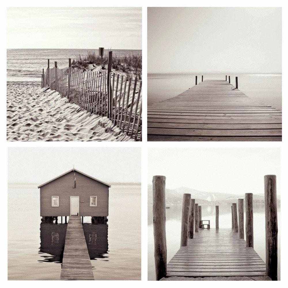 Toile 50 x 50 cm seaside maisons du monde - Toile maison du monde ...