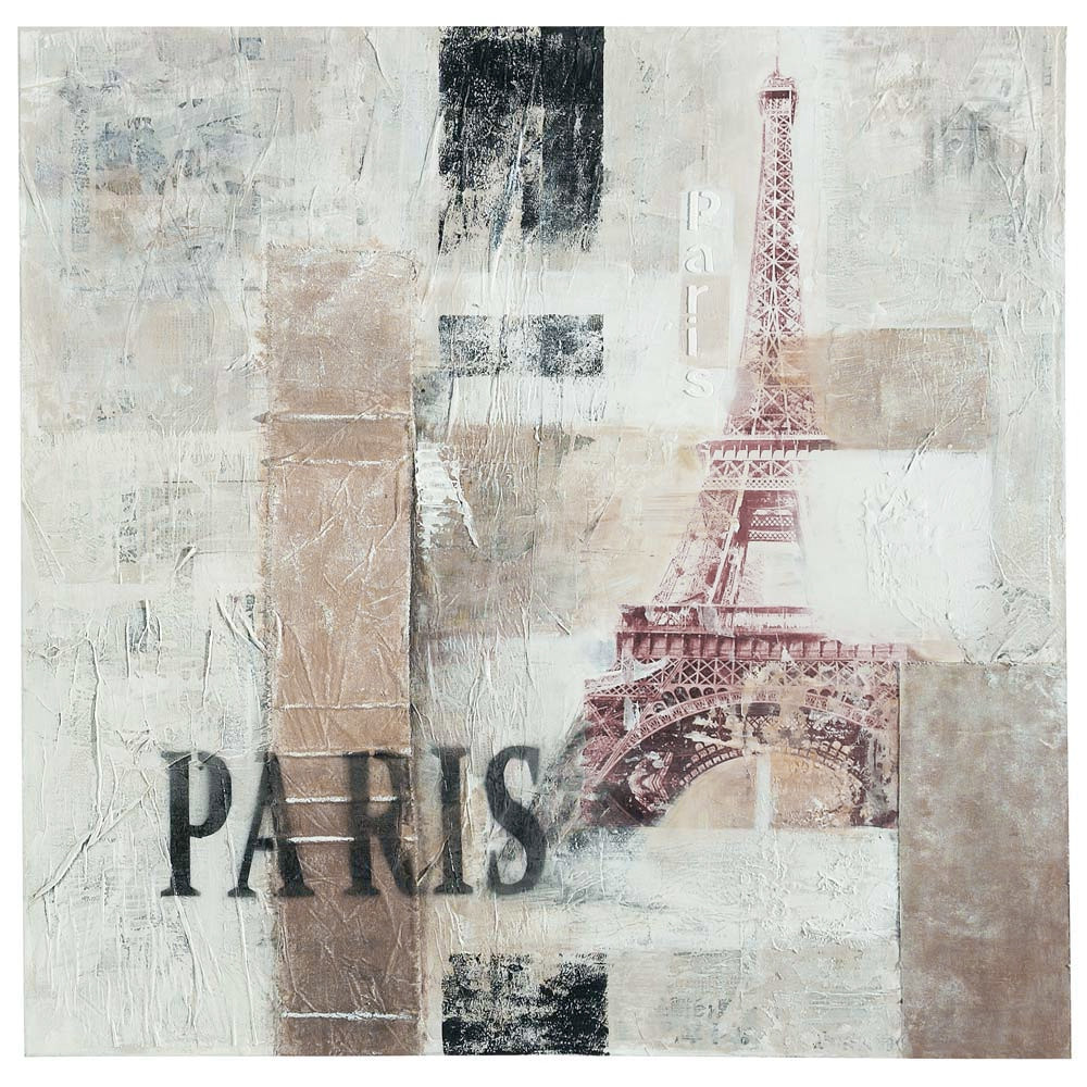 Toile abstract paris maisons du monde - Maisons du monde paris ...