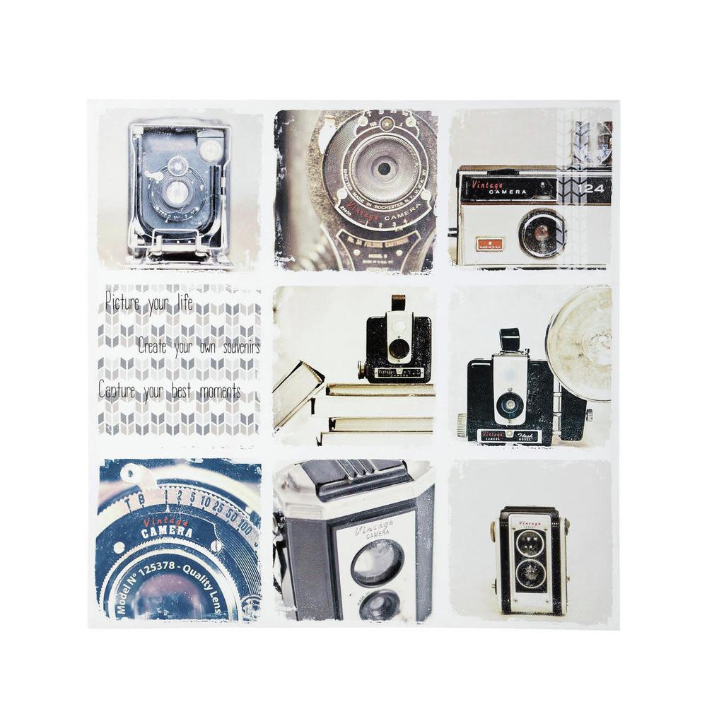 toile appareil photo vintage shooting maisons du monde. Black Bedroom Furniture Sets. Home Design Ideas