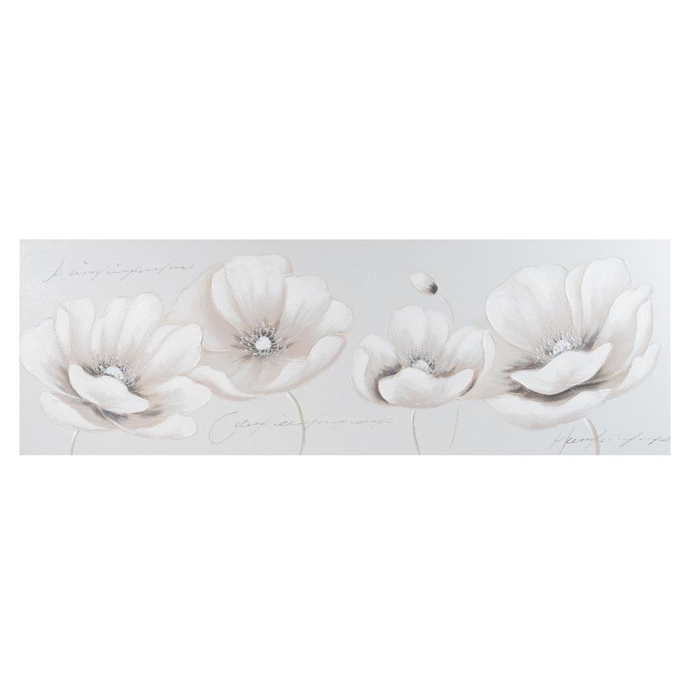toile fleurs 40 x 120 cm daphn e maisons du monde. Black Bedroom Furniture Sets. Home Design Ideas