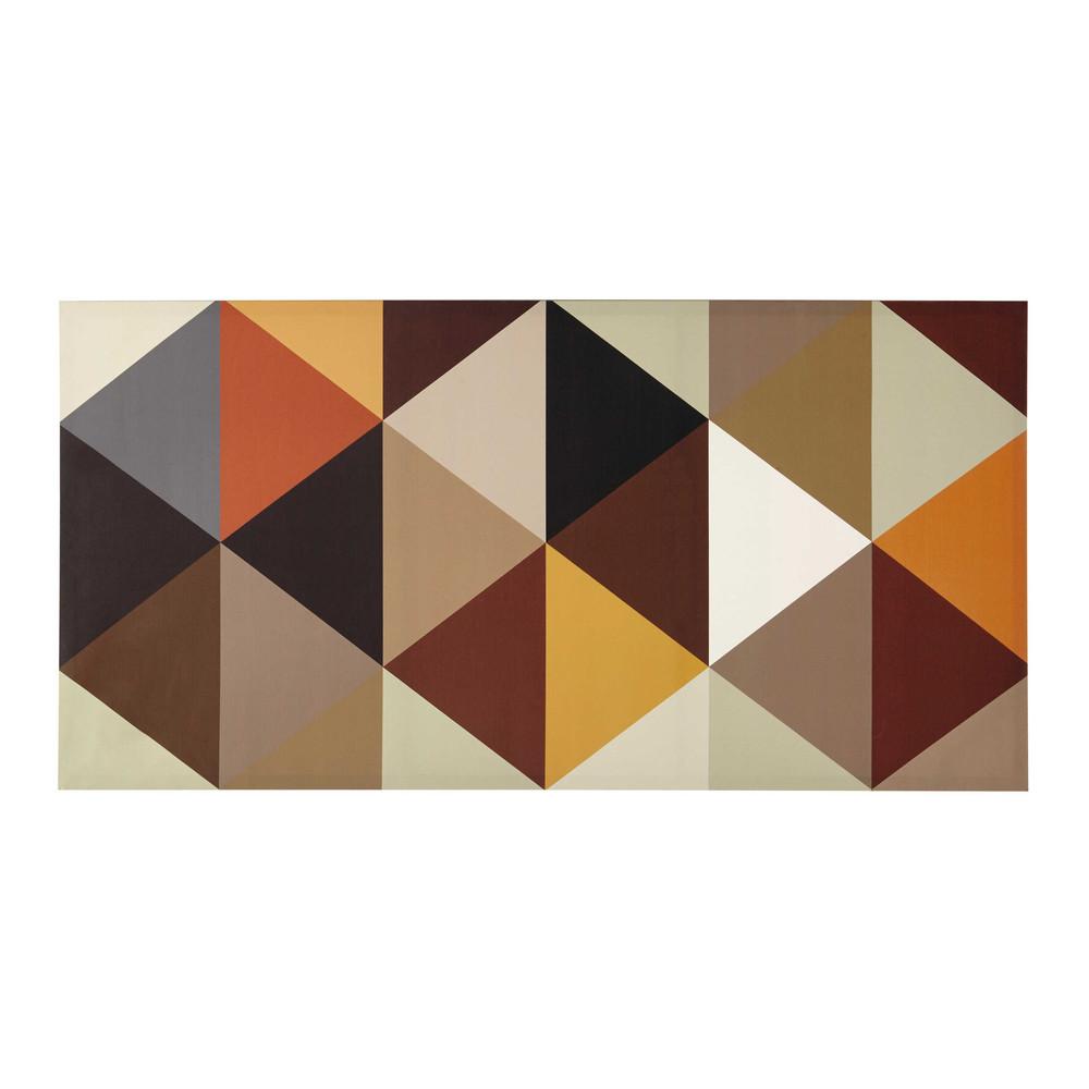 Toile Multicolore 60 X 120 Cm Geometric Maisons Du Monde