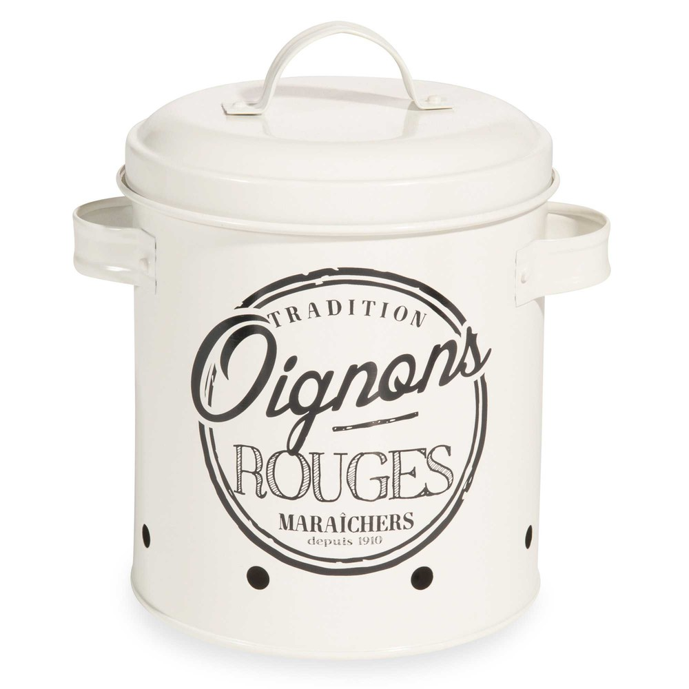 Tradi metal onion container maisons du monde for Container maison du monde