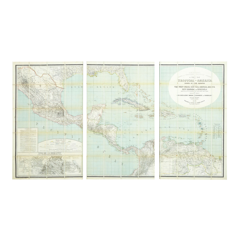 Cartina 1500.Cartina America Tablon