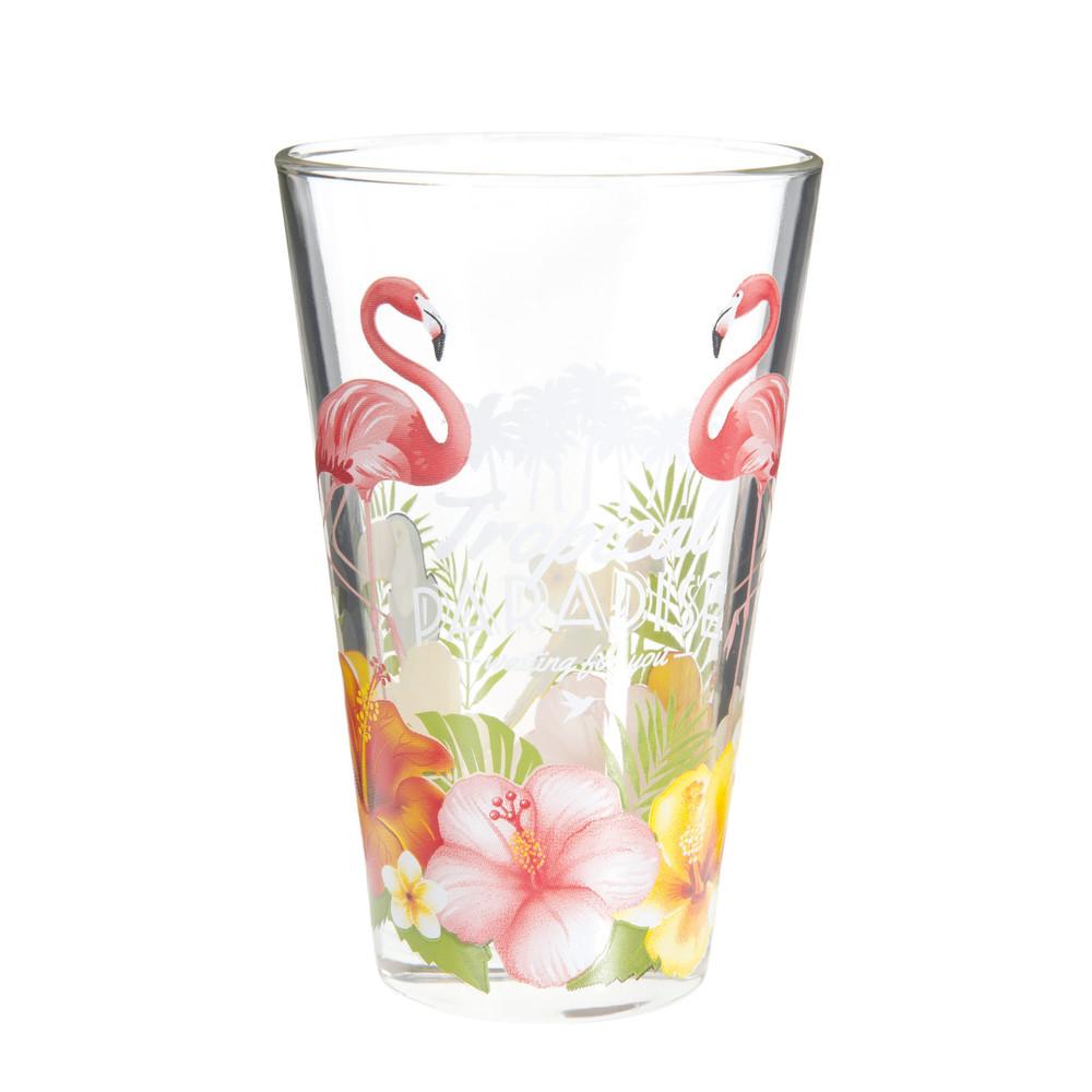 Tropical paradise glass tankard maisons du monde - Maison du monde mug ...