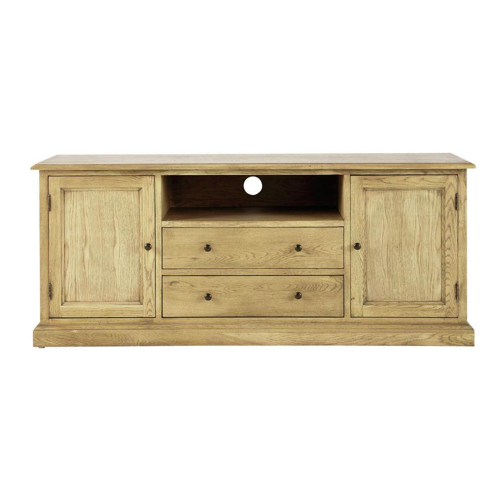 tv lowboard aus eichenholz b 145 cm atelier maisons du. Black Bedroom Furniture Sets. Home Design Ideas