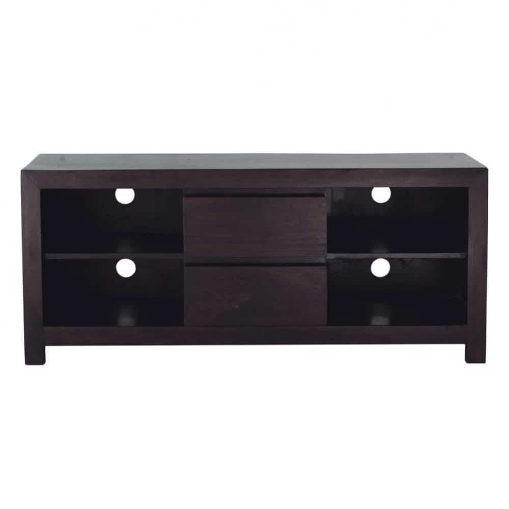 tv lowboard aus massivem mangoholz b 140 cm bengali maisons du monde. Black Bedroom Furniture Sets. Home Design Ideas