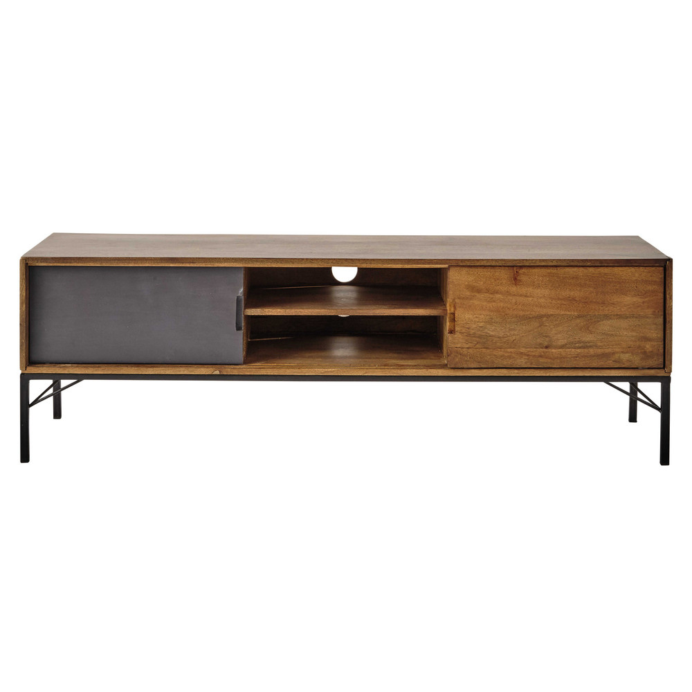 tv m bel aus mangoholz b 150 cm arty maisons du monde. Black Bedroom Furniture Sets. Home Design Ideas