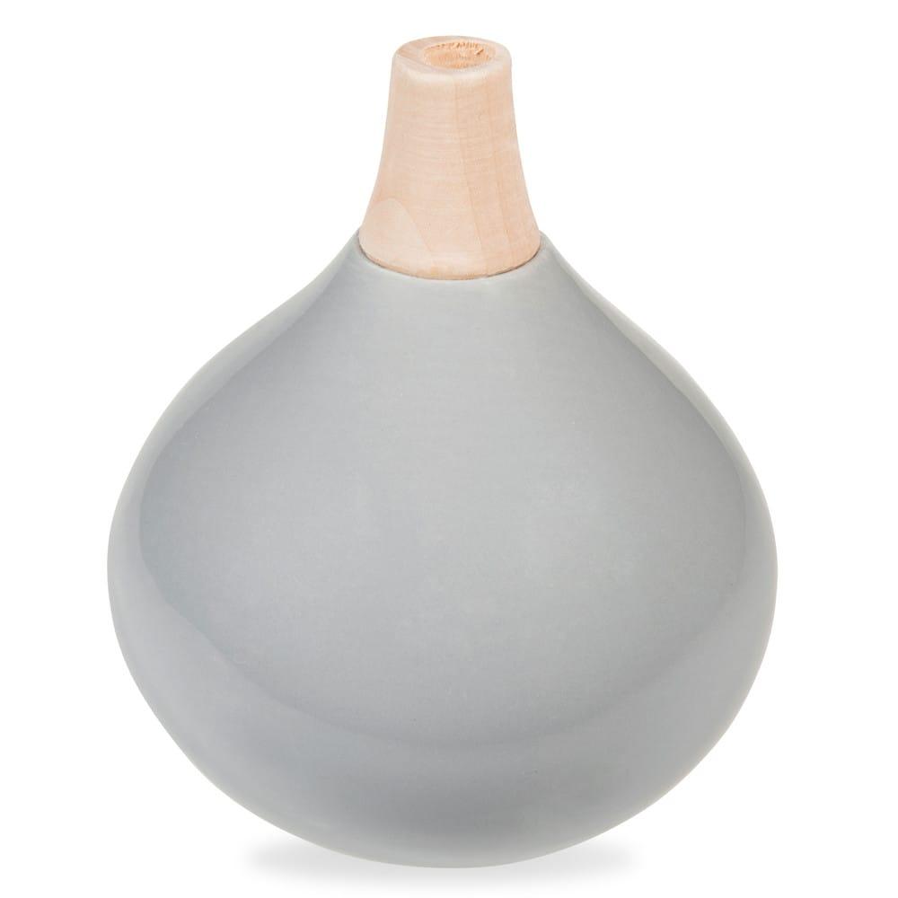 vase en c ramique gris h 16 cm jorgen maisons du monde. Black Bedroom Furniture Sets. Home Design Ideas