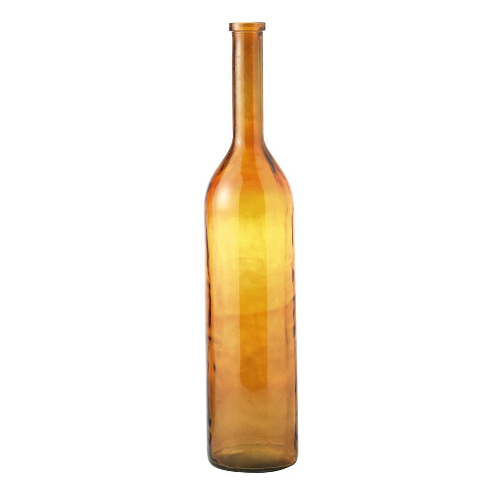 vase en verre brun h 100 cm albert maisons du monde. Black Bedroom Furniture Sets. Home Design Ideas