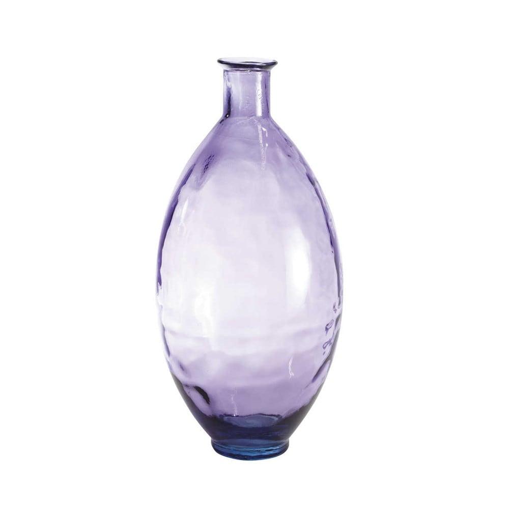 vase verre violet ajala maisons du monde. Black Bedroom Furniture Sets. Home Design Ideas