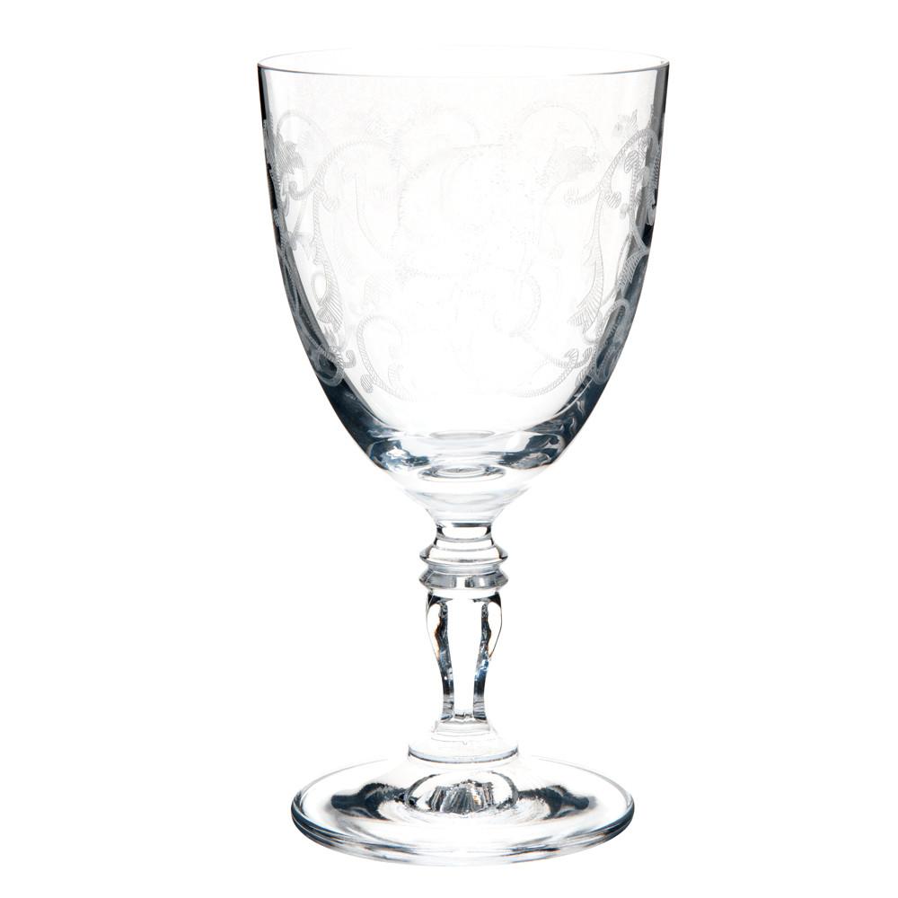 Verre à eau en verre VERSAILLES | Maisons du Monde