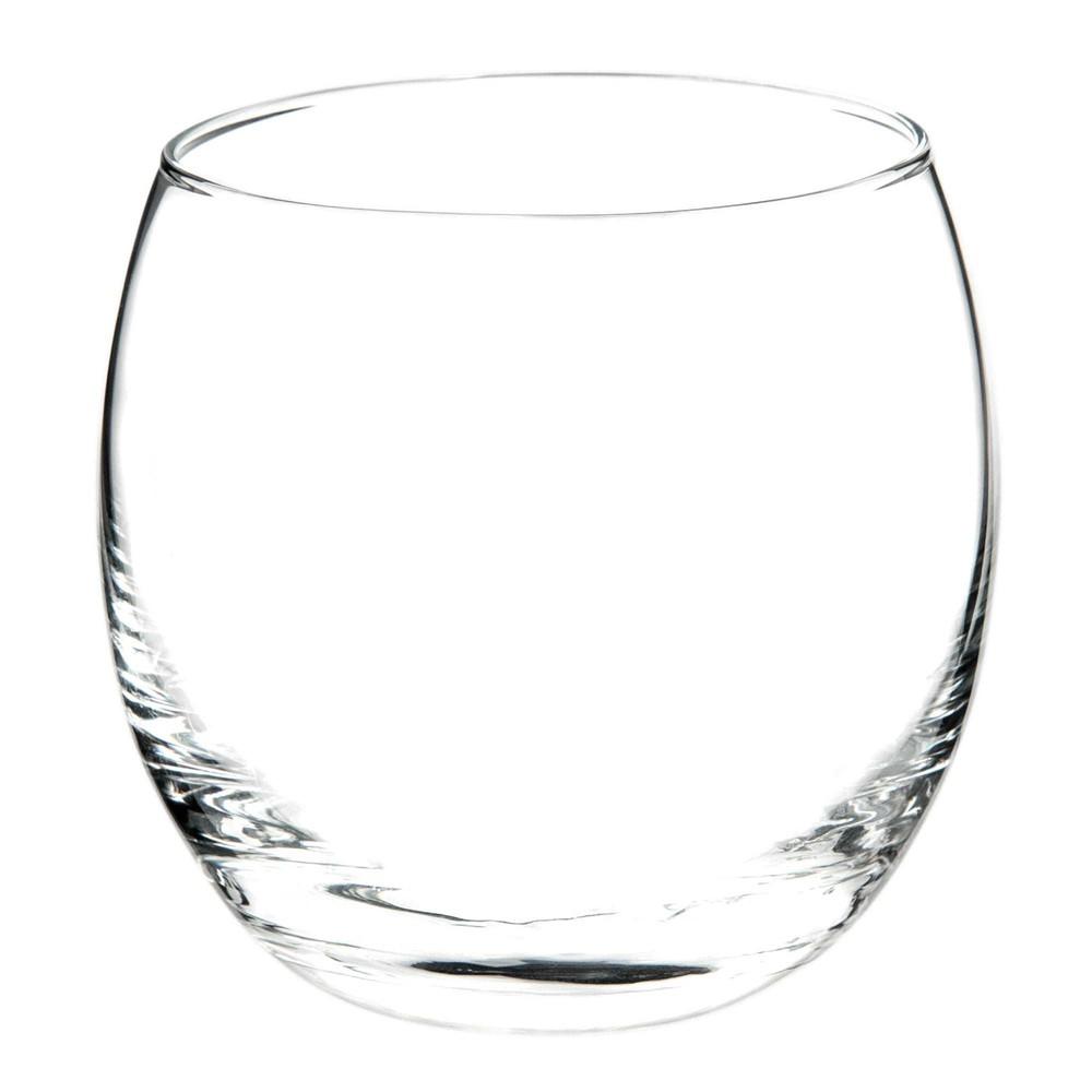 Verre liqueur en verre tonneau maisons du monde - Grand verre a pied pour decoration ...
