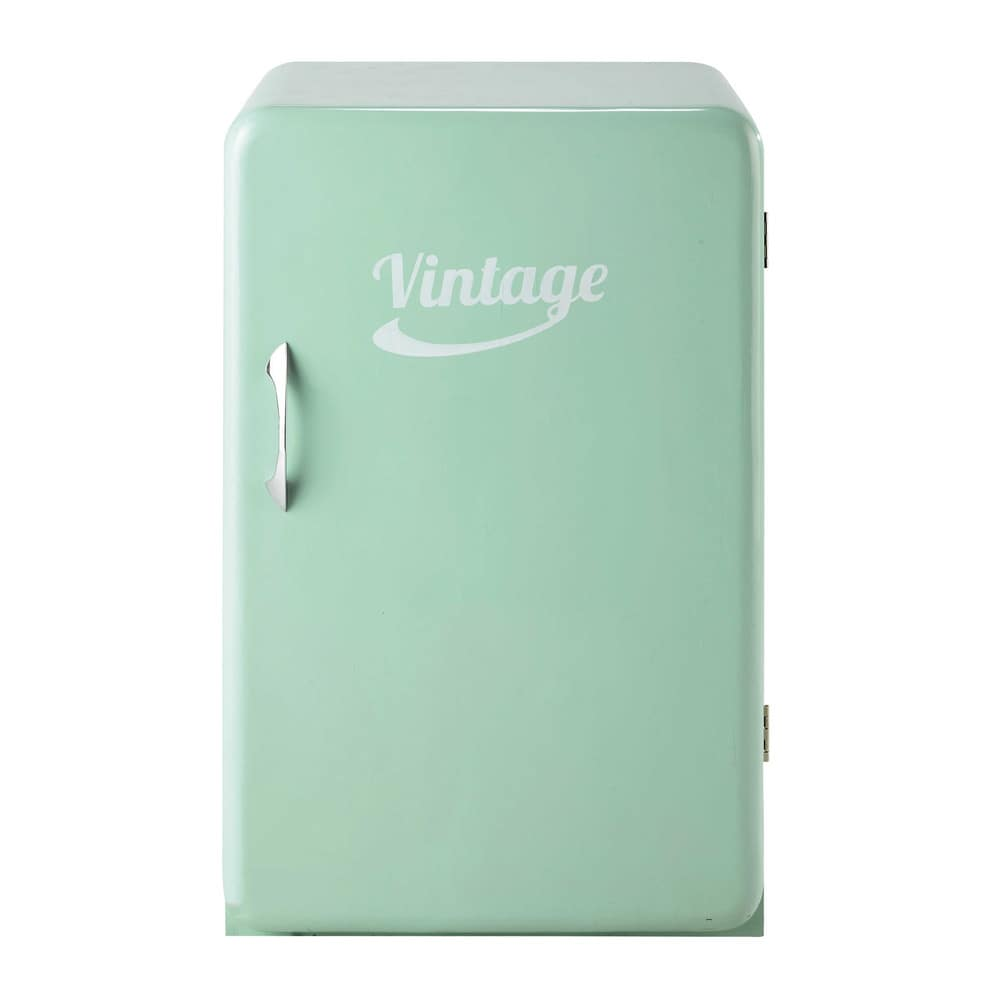 vintage fridge sideboard in sea green w 55cm chill maisons du monde. Black Bedroom Furniture Sets. Home Design Ideas