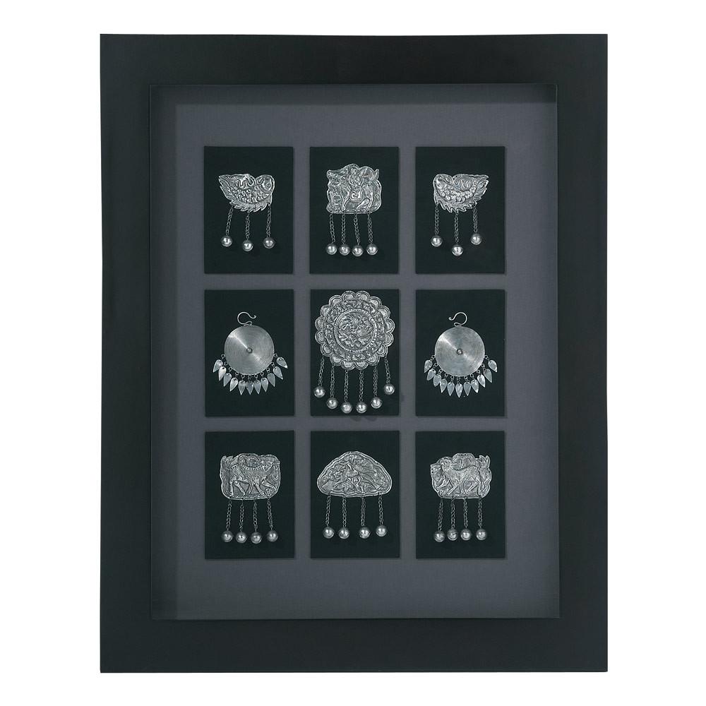 vitrine bijoux silver maisons du monde. Black Bedroom Furniture Sets. Home Design Ideas