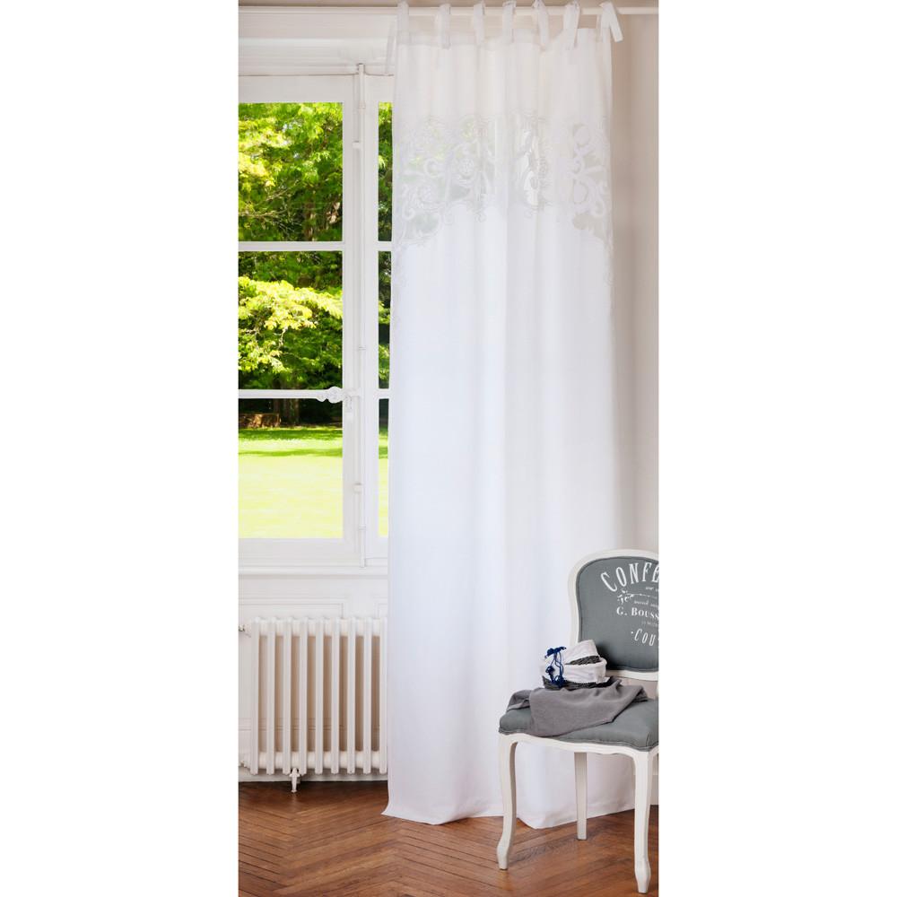 vorhang lourmarin maisons du monde. Black Bedroom Furniture Sets. Home Design Ideas