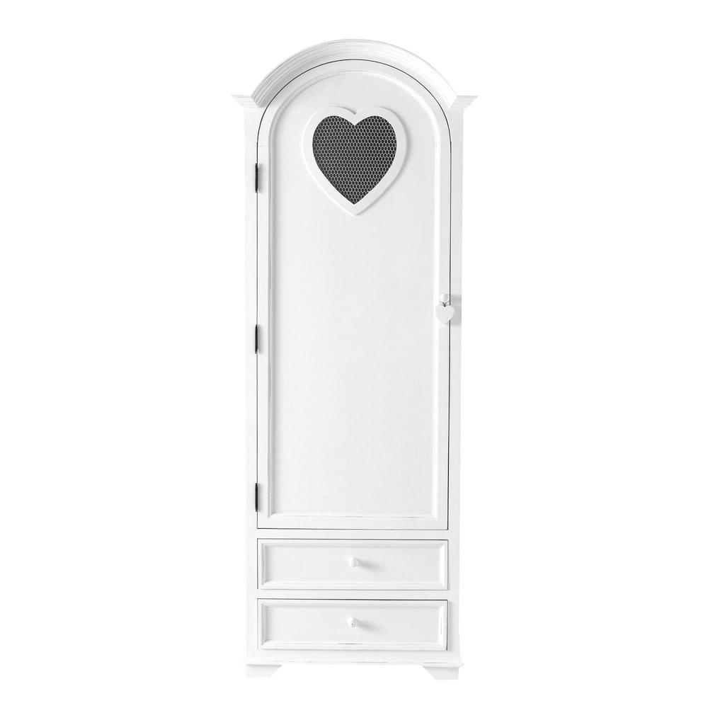 w scheschrank aus holz b 74 cm wei valentine valentine maisons du monde. Black Bedroom Furniture Sets. Home Design Ideas