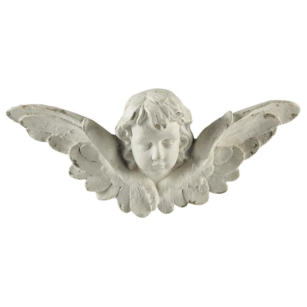 wanddecoratie engel kunsthars 24 x 56 cm raphael