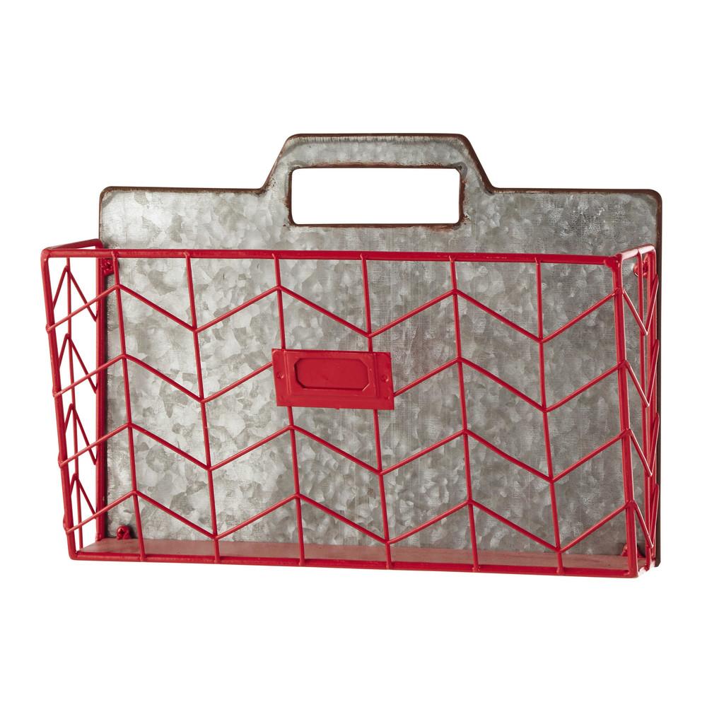 wandhalter f r dokumente aus metall rosa lea maisons du monde. Black Bedroom Furniture Sets. Home Design Ideas