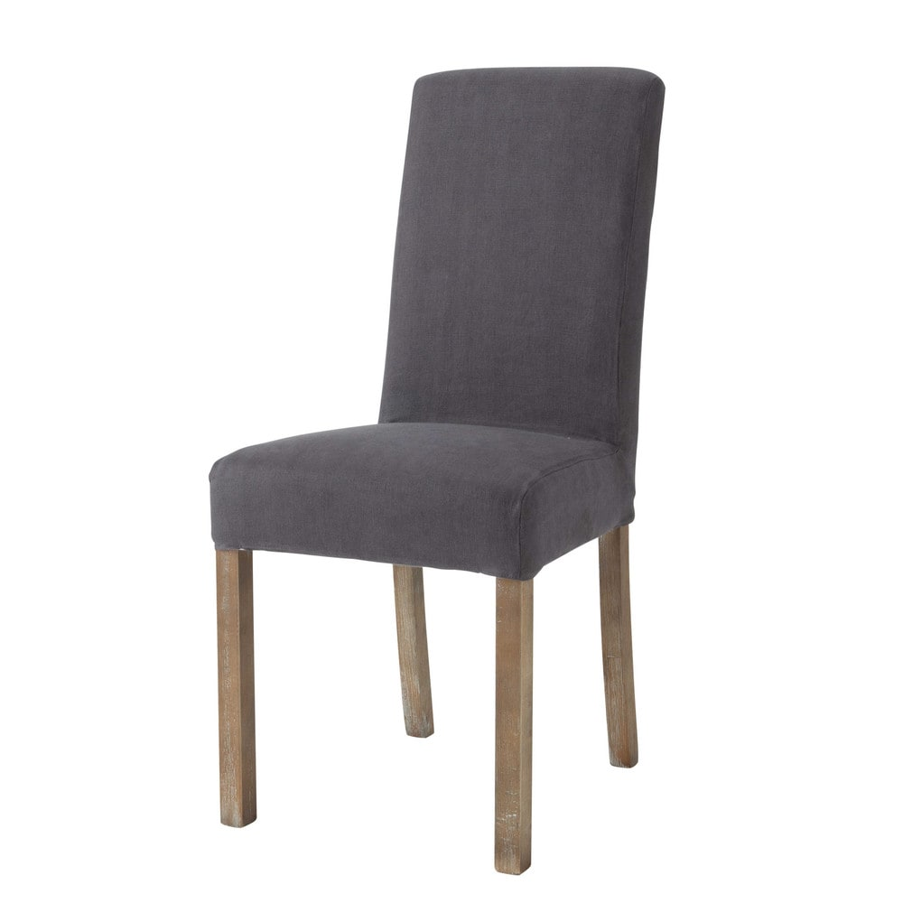 Linen Chair Cover linen chair covers linen long chair cover in taupe alice maisons