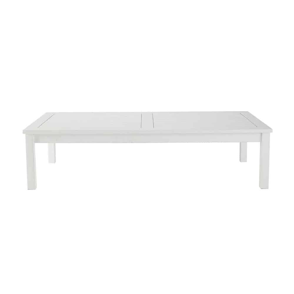 White garden coffee table port blanc port blanc - Table maison du monde ...