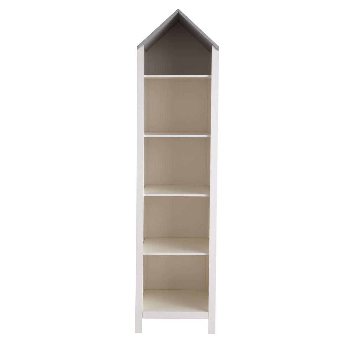wit houten boekenkast huis b 45 cm songe maisons du monde