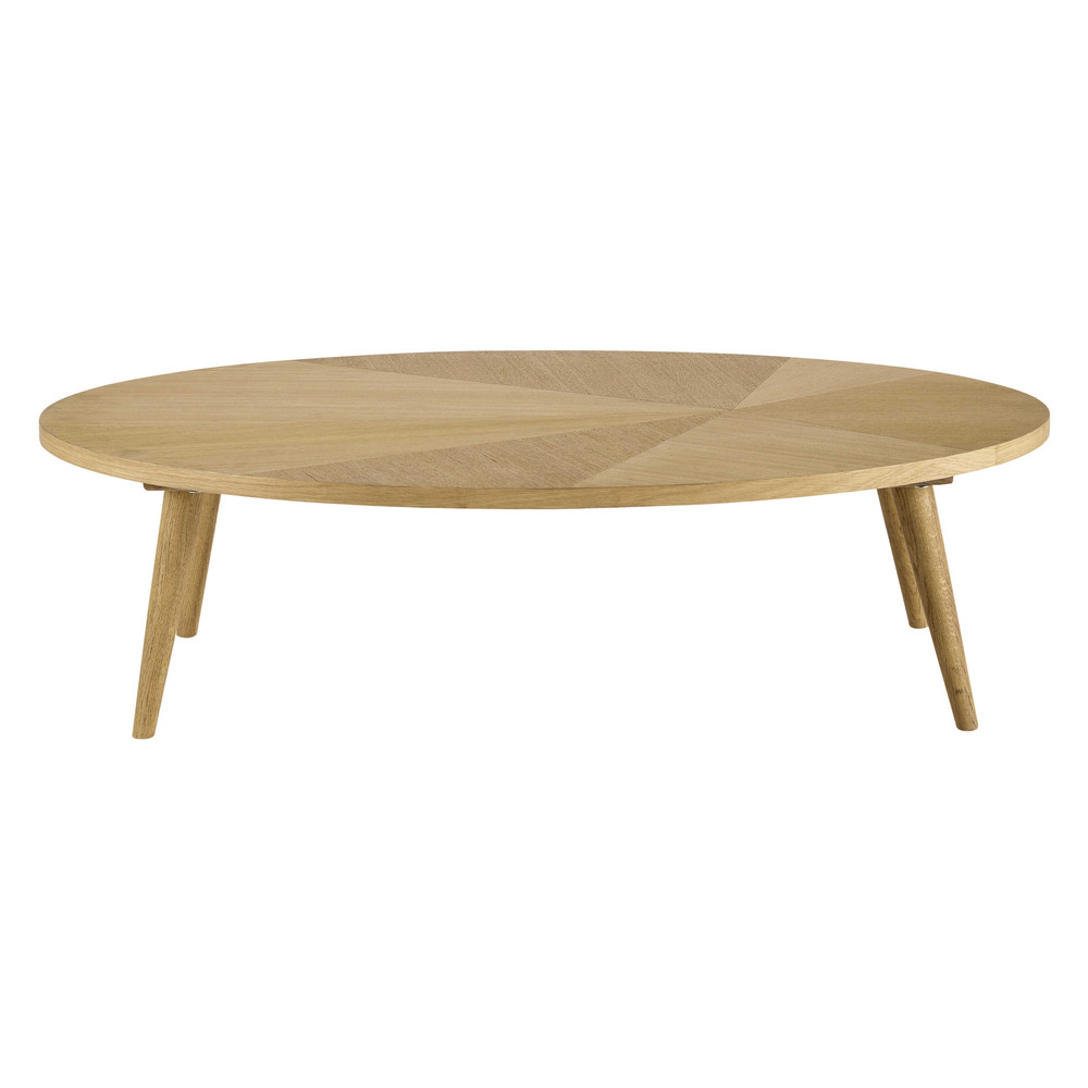 Wooden coffee table w 120cm origami maisons du monde - Maison du monde table de salon ...
