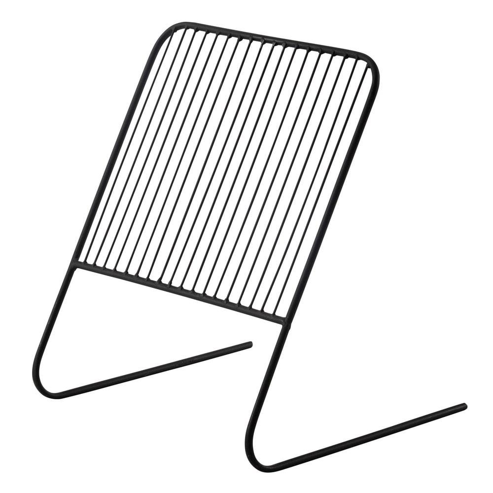 zeitschriftenst nder elliot aus metall schwarz maisons. Black Bedroom Furniture Sets. Home Design Ideas