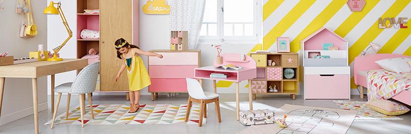 Chambre fille - Déco, styles & inspiration | Maisons du Monde
